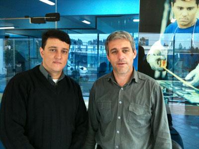 Edweiss e Sidnei Bremm Oliveira